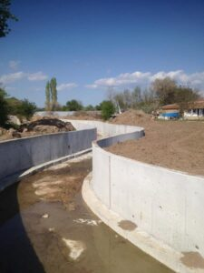 Kırklareli Karıncak Köyü Su taşkın